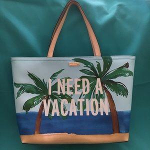 """Kate Spade """"I Need A Vacation"""" Francis' Tote"""